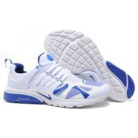 Quality cheap wholesale Mens Nike Air Presto 2012 Whtie Blue Running Shoes for sale