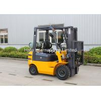 Quality Hydraulic 1.8T LPG Forklift Trucks 2 Stage 3m Mast With Caster Sideshift for sale