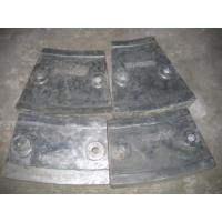Buy Metal Mould Casting Wear Performance No Breakage , Cr12 Mill Liners at wholesale prices