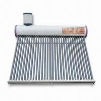 China vacuum tube solar hot water heater(CE,CCC,ISO) on sale