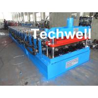 Quality CE Approved Floor Deck Roll Forming Machine for Making 0.8 --1.0 mm Thickness Steel Structure for sale