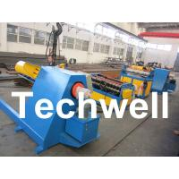 Quality 30KW High Speed Simple Metal Sheet Slitting Machine Line To Cut Coil Into 10 Strips for sale