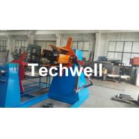 Quality Active Uncoiling , Hydraulic To Expand 5, 10, 15 Ton Hydraulic Uncoiler / Decoiler With Coil Width 1500mm for sale