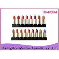 Paraben Free Natural Makeup Lipstick Without Red DyeRaw Materials Glossy
