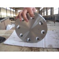 Quality EN 1.4547 254SMO Super Duplex Stainless Steel Flanges Blind Type For Power Generation for sale