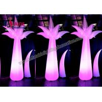 China Outdoor Inflatable Scene Lighting Stage Decoration LED light Inflatable Flower on sale