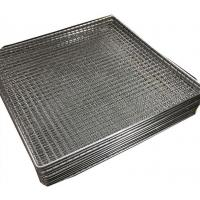 Quality Woven wire grill mesh basket for holding glass plate stainless steel 304 for sale