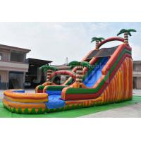 Buy cheap 20ft big jungle pool water slide parts inflatable for kids and adults cheap from wholesalers
