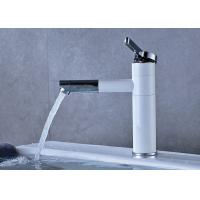 China Deck Mounted Bathroom Vanity Faucets , Bathroom Water Faucet Thermostatic ROVATE on sale