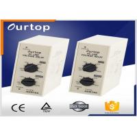 Buy cheap Voltage Detection Relay , Line Voltage Monitoring Relay Approx 3VA Power Consumption from wholesalers