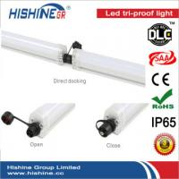 China Ceiling Vapor Proof Fluorescent Light Fixtures Color Rendering Index >78 on sale