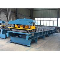 Quality Metal Roof Making Machine Production Line , PPGI Steel Glazed Tile Making Machine for sale