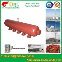 Buy Fire Proof Induction Boiler Mud Drum , High Performance Water Drum In Boiler at wholesale prices