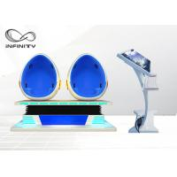 Quality 1500W 9D Egg Chair Cinema With Interactive Game 9d Virtual Reality Movie Machine For Shopping Mall for sale