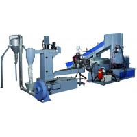 Quality Industrial Small Scale Plastic Recycling Machine / Plastic Recycling Plant Machinery for sale