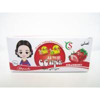 Quality 14.4g Strawberry flavor CC stick candy in box children's favorite healthy and yummy for sale