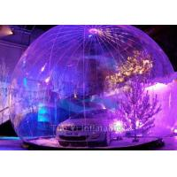 Quality Indoor / Outdoor Inflatable Bubble Tent Hail Proof Car Body Cover CE Approval for sale