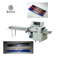Automatic Pillow Bag Packing Machine for 20pcs pens packaging with CE Certification for sale