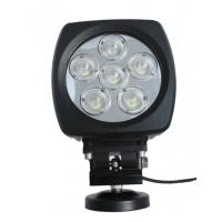 Buy cheap 60W high power Led vehicle work light with Flood /Spot beam 6 inch for Off road from wholesalers