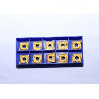 Quality High Precision Carbide Cutting Inserts , Carbide Tool Inserts YBC251 CNMG120404 - PM for sale