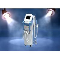 Quality Multifunction Facial Machine / Ipl Laser Hair Removal Machine 3 in 1 E-light Rf Nd Yag Laser for sale