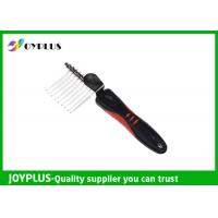 Quality JOYPLUS Metal Rubber Pet Hair Remover Brush OEM / ODM Acceptable 26CM for sale