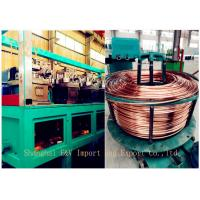 China Large 8 pass copper alloy cold rolling machine 16mm - 8mm 200kw on sale