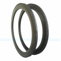 Buy cheap 7-tiger Carbon Road Bike 60 mm U shape Depth 25 mm width 700 C Carbon Rim from wholesalers