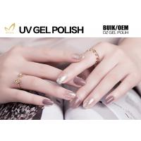 Buy cheap Healthy Glitter Gel Nail Varnish , Magic Mauve Gel Nail Polish European Standard from wholesalers