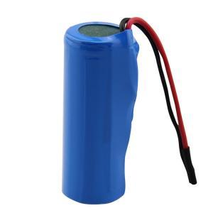 Quality 18500 MSDS 1400mAh Li Ion 3.7 V Battery IEC62133 for sale