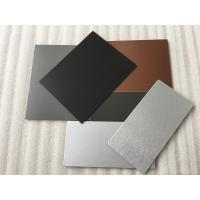 Buy 3 Coats PVDF Aluminum Composite Panel Boards High Intensity For Interior Wall at wholesale prices