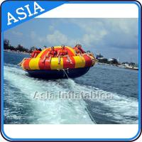 Buy Spinning Inflatable Disc Boat For 12 People / Inflatable Spin Boat Water toys at wholesale prices