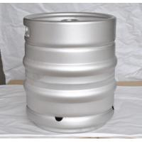 Quality Silver Slim 20L Small Beer Kegs Stainless Steel Logo Available for sale