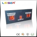 Quality Simple Five Digits Led Football Scoreboard / Electronic football sport Scoreboard for sale