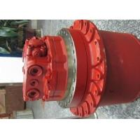 Quality Hyundai R225-9 Volvo EC210 Excavator Final Drive Motors With Gearbox TM40VC-05 Red Color for sale