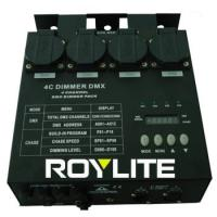 Quality Professionnal DMX Dimmer Pack 4CH 5Pin 16A AC 220 - 240V , stage lighting dimmer packs for sale