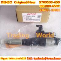 Quality DENSO Original Injector 095000-6593 /095000-6591/9709500-659 / 23670-E0010/095000-659# for sale