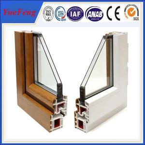 China Market price of aluminium oxide, 6063 aluminum profile casement window frame on sale