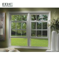 Buy cheap European Standard 3 Track Aluminium Sliding Windows With Guard Security Bar from wholesalers