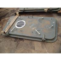 Weather Tight Marine Doors / 8mm Thickness Boat Cabin Doors Right Angle / Round Angle Corner for sale