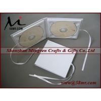 Quality Double Cotton Fabric Linen CD DVD Cover for sale