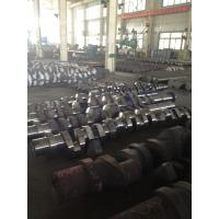 Buy ABS, DNV, BV, NK,CCS Approved Custom Forged Alloy Steel Crank Shaft Forging Ratio >4.5 at wholesale prices