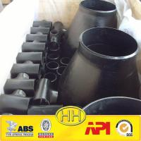 Quality Ansi B16.9 WPB TEE ELBOW REDUCER CAPS SEAMLESS CARBON BUT WELDED STEEL PIPE FITTINGS for sale