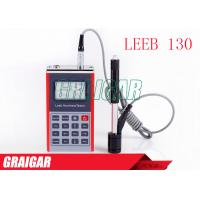 Quality Menu Operation Leeb130 Hardness Testers HI HRC HRB HS HB HV LCD with backlight for sale
