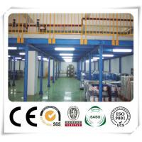 China Durable Cold Formed Steel Sections Warehouse Storage Steel Platform Racking on sale