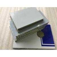 Buy Lightweight Aluminum Honeycomb Core Panels High Strength For Rail Construction at wholesale prices