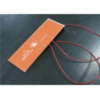 Quality Customized Shapes Silicone Heating Pad , Silicone Pad Heater With Thermostat for sale