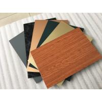 Quality Smooth Surface Facade Aluminium Composite Panel For Wall Cladding Decoration for sale