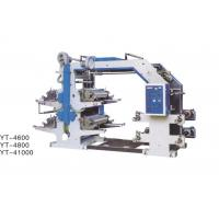 Quality YT-4800 Flexographic Printing Machine 4 Color With Adjustable Longitudinal Register Device for sale