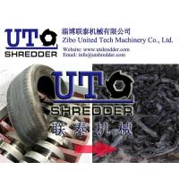 Quality Car/truck tyre crushing machine, waste tire shredder, double shaft shredder/used tyre recycling machine for sale